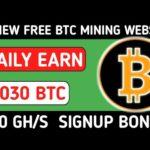 2 Biggest Bitcoin mining Sites || New Earning Websites 2020 || New BTC Mining