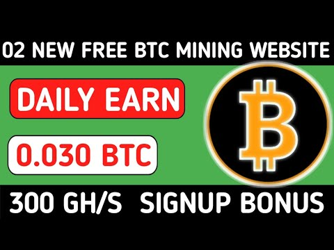 2 Biggest Bitcoin mining Sites || New Earning Websites 2020 || New BTC Mining