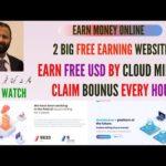 Earn Money Online | Earn Free USD By Mining | 2 Big Free Earning Sites | Hindi/Urdu |