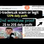 Bit-traders.uk scam or legit ? Legit bitcoin investment site 2020