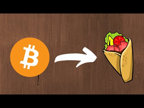 I bought some TASTY food using Bitcoin!
