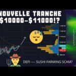 BITCOIN TENDANCE CONFIRMÉE?!! DEFI SUSHI SCAM? Analyse Technique Crypto DOT UOS BTC ETH | V016