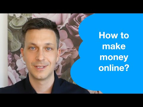 How to make money online? How to be successful in any business.