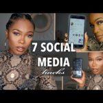 7 Social Media Hacks + Make Money Online