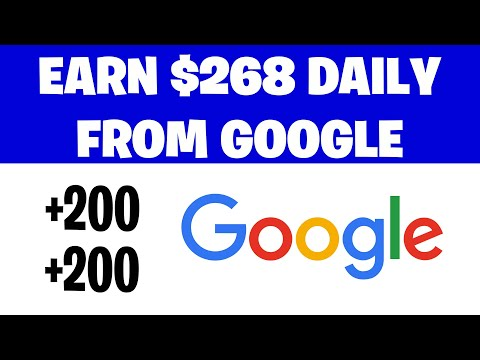 Earn $268 Daily From GOOGLE [Make Money Online]