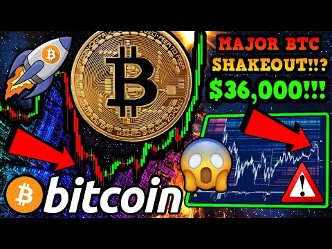 BITCOIN BREAKOUT!!!!!? SHOCKING DATA REVEALED!!! $36,000 BTC WHALE TARGET!!!