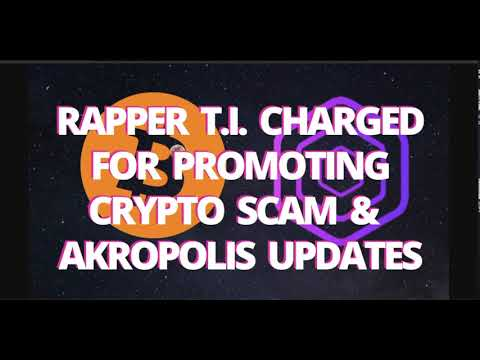 Rapper TI Charged For Promoting Crypto Scam & Akropolis Updates