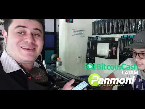 Sebastian Montes Compra con Bitcoin Cash (BCH) en House Technology Medellín
