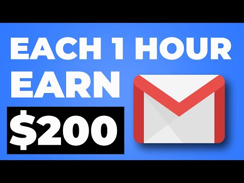 Earn $200 Per Hour For Emails [Make Money Online]