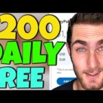 Earn $200 DAILY For FREE (Make Money Online For Free 2020)