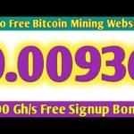Two Free Bitcoin Mining Website 2020 | Daily Earn 0.003 Btc | Free Cloud Mining Website|Ahmad Online