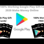 GET 100% Working Google Play Gift Cards! 2020 Make Money Online