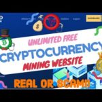 Free Cryptocurrency Mining Website 2020/Real Or Scam?/Unlimited Earning/Bitcoin To Tron