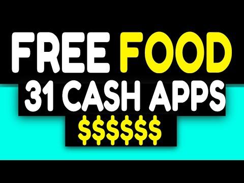 FREE FOOD APPS 2020 - 31 CASH APPS THAT WORK Make Money Online EASY CASH BACK APP