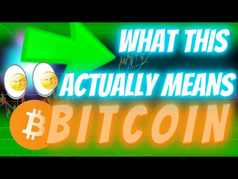 THE BITCOIN BREAKOUT EVERYONE HAS BEEN WAITING FOR?? - Or The Beginning Of Something **CRAZY**