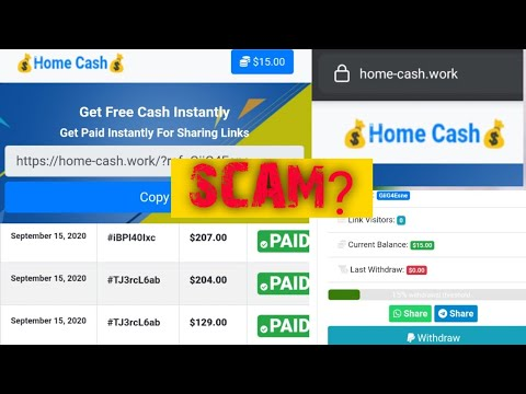 Home-cash.work Payment proofs (100+% scam or legit?)don't join yet!!