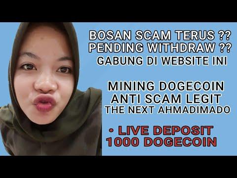 Website/Situs Mining Dogecoin Tanpa Scam, Aktif Sepanjang Masa