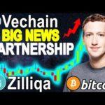 Vechain (VET) HUGE New PARTNERSHIPS ! Zilliqa (ZIL) New MODULAR Network ! Bitcoin (BTC) BULL MARKET