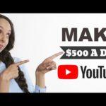 MAKE $500 A DAY ON YOUTUBE RE-UPLOADING VIDEOS - Make Money Online