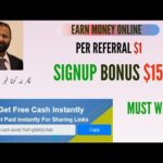Earn Money Online | SignUp Bonus $15 | How To Create Account In home-cash-work | Hindi/Urdu |