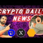 Crypto Daily News, INXT,  UTrust, Divi and More Plus the Daily Crypto Giveaway!