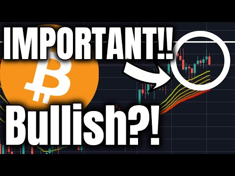 VERY BULLISH NEWS FOR BITCOIN!! CRUCIAL ANALYSIS UPDATE!! (Cryptocurrency Trading + Price)