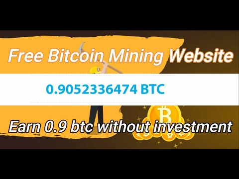 Free Bitcoin Mining Website 2020    Free Cloud Mining Website    With Unlimited refer tricks