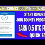 Earn Free Bitcoin | New High Paying  Bitcoin Mining Website 2020 | Without Invest | Bonus Free BTC
