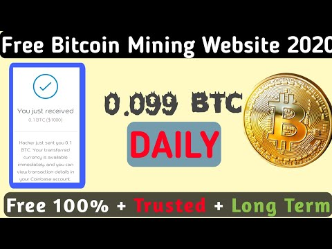 Free Bitcoin Mining 2020 Website    Earn free Bitcoin in 2020 ONline for Free   0.099 BTC Daily Free