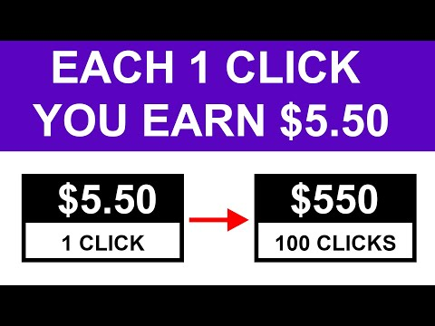 Earn $550 PER DAY CLICKING BUTTONS *New Method* [Make Money Online]
