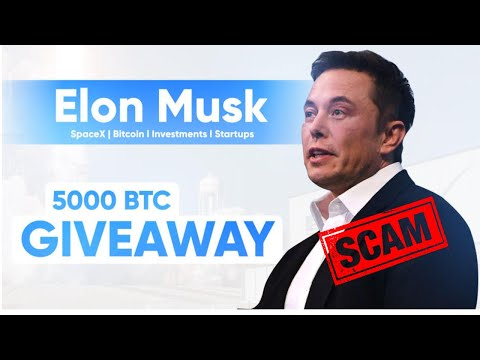 Free 5000 Bitcoin Giveway Elon musk scam or real | Last week crypto