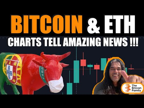 WOOOW!! THESE MUST SEE BITCOIN & ETH CHARTS TELL AMAZING NEWS!! What did this bull have to say???