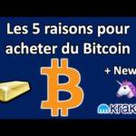 Les 5 raisons pour posséder du Bitcoin + News: Uniswap et kraken