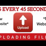 Earn $5 EVERY 45 SECONDS UPLOADING FILES *New Website* | Make Money Online in 2020