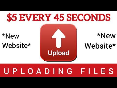 Earn $5 EVERY 45 SECONDS UPLOADING FILES *New Website* | Make Money Online in 2020