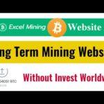 Bitcoin Mining Long Term Earning Website || Earn Free 0.002 BTC Weekly || Worldwide BTC Earning Site