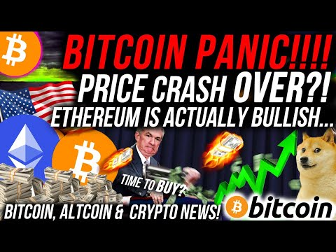 BITCOIN PANIC!! BUT IS PRICE CRASH OVER!!?! ETHEREUM IS BULLISH!! BANKS BUYING CRYPTO!! Crypto News