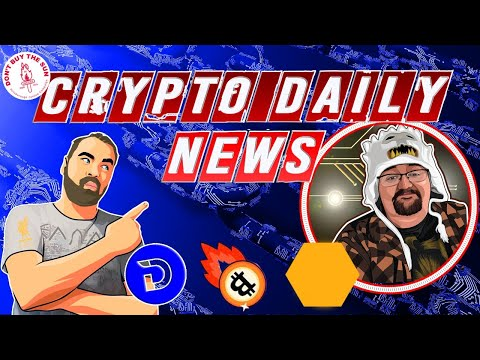 Crypto Daily News, Divi New Exchange, Bitcoin Price  Plus the Daily Crypto Giveaway!