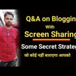 Ask Me Anything Related Youtubing, Blogging, Digital Marketing & Make Money Online   Live   Q&A