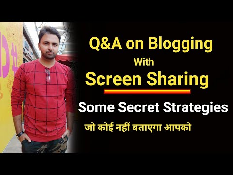Ask Me Anything Related Youtubing, Blogging, Digital Marketing & Make Money Online | Live | Q&A