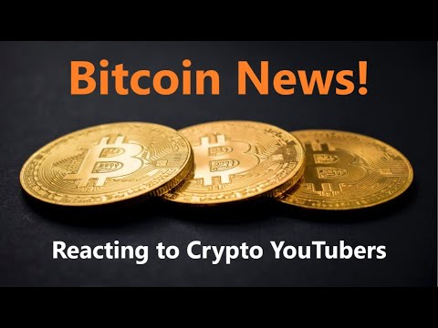 Bitcoin News, Reacting to Bitcoin Scam Statement & why i dont like some Crypto YouTubers