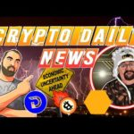 Crypto Daily News, Divi Dump, Bitcoin Price,  Plus the Daily Crypto Giveaway!