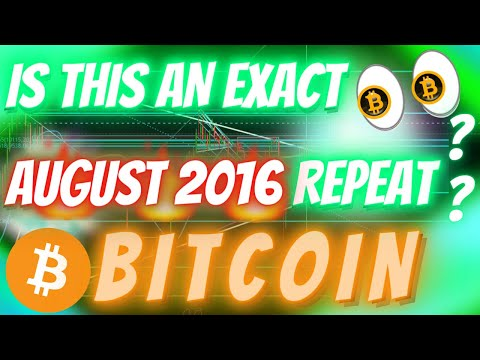 BITCOIN REPEATING AUGUST 2016 EXACTLY?? IF SO - THIS IS WHAT WILL HAPPEN NEXT!!!
