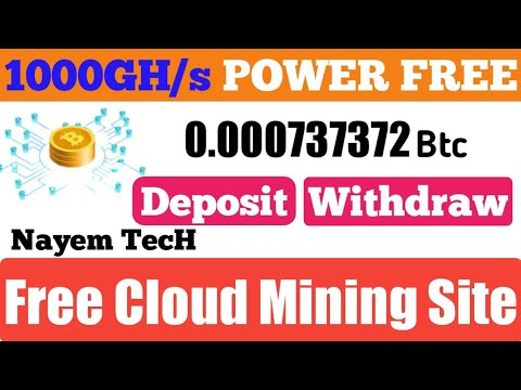 Space Mining.online Scam Or Legit  New Free Bitcoin Cloud Mining Site 2020  Bouns 1000GH/s