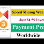 Earn $2 Daily | Speed Mining Withdraw Proof | Bitcoin Mining New Website Worldwide