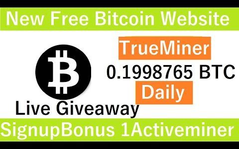 New Free Bitcoin Mining Site 2020-Free Cloud Mining Site 2020-Truehash Review