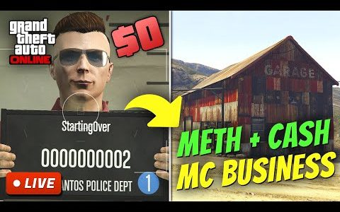 Starting from Zero Money in GTA 5 Online | BROKE TO RICH S2E9 (Buying Even More MC Businesses)