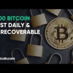 1,500 Bitcoin lost daily, Alibaba stocking up crypto patents: The Bitcoin.com Weekly Update