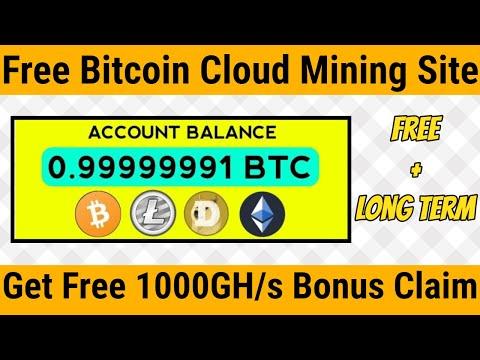 New Free Bitcoin Mining Website 2020 || New Free Cloud Mining Website || Best Bitcoin Mining Site