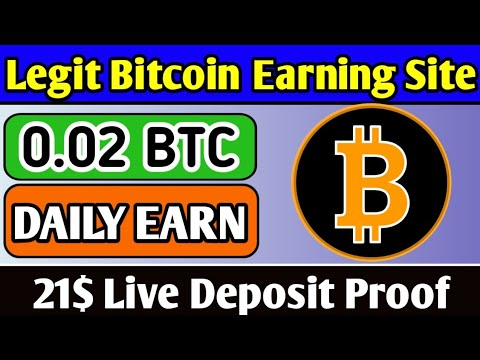 New Bitcoin Earning Websites 2020 | Free Bitcoin Site | Bitcoin Mining Sites 2020 | Live 21$ Deposit